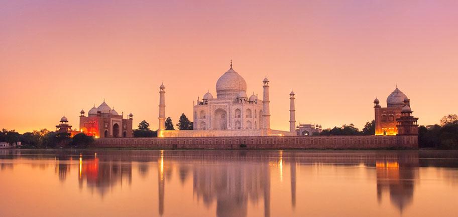 Taj Mahal Reisen Schweizer Reisebüro