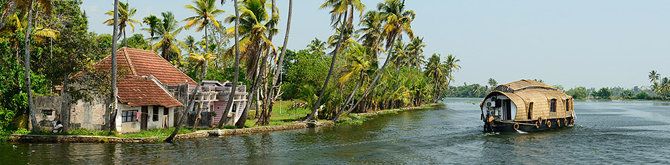 Indien Backwaters